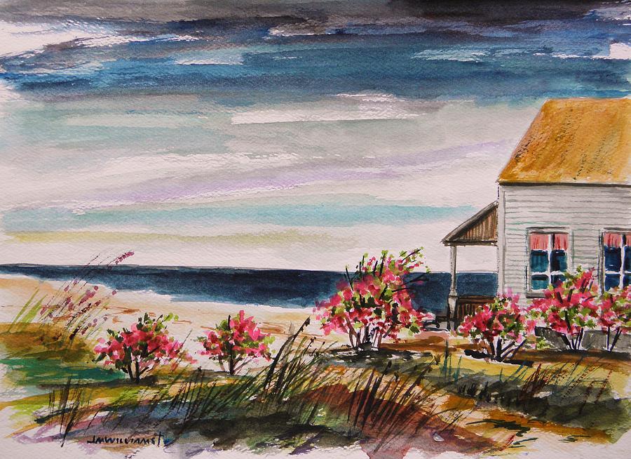Beach Painting - Getaway by John  Williams