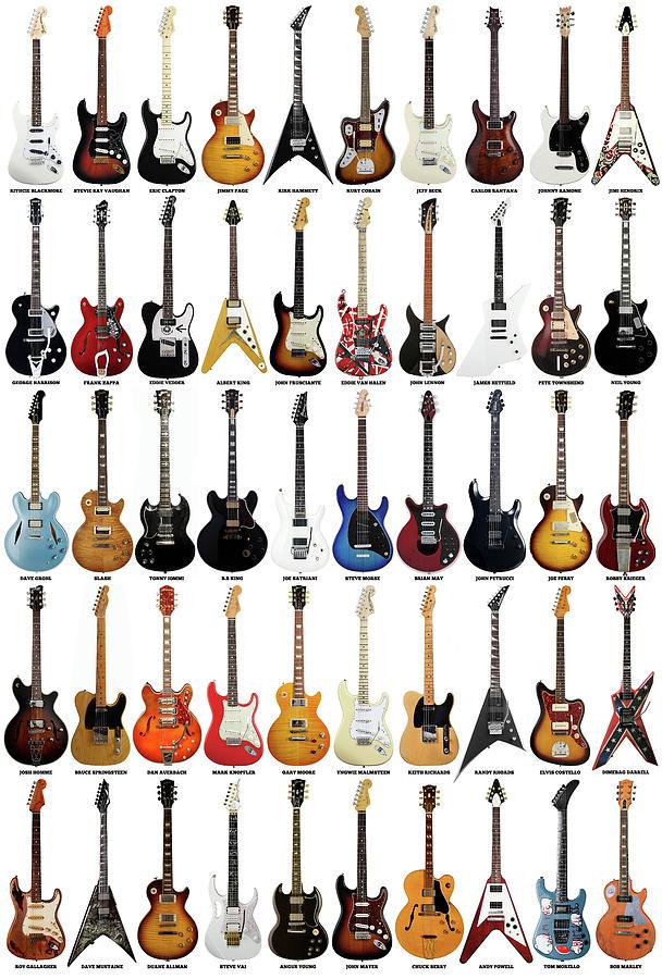 Guitar Legends Digital Art