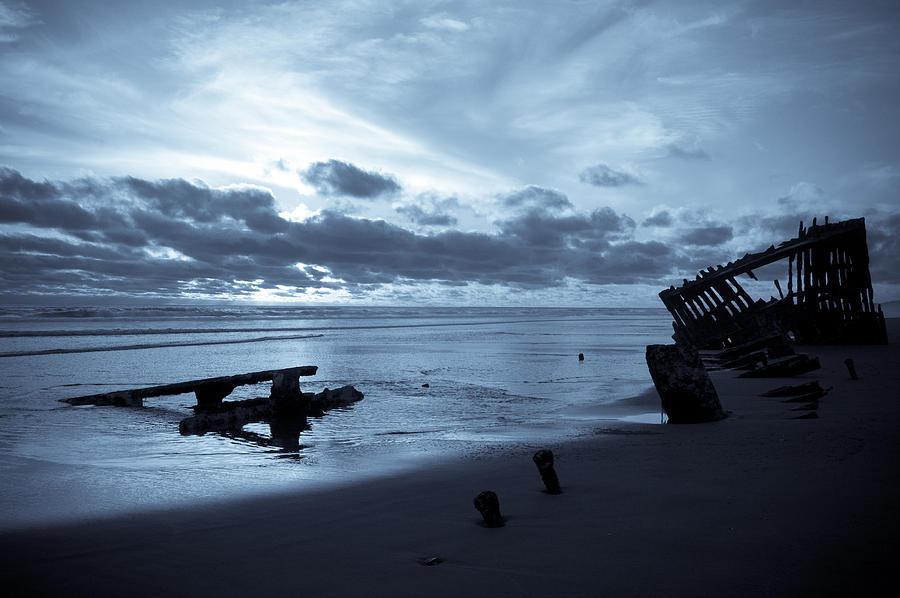 Shipwreck Photograph - Ghost Ship by Jennifer  Owen