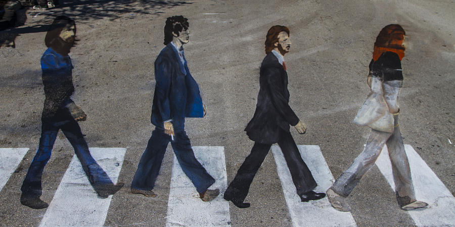 George Photograph - Ghosts Of Abby Road by Debra and Dave Vanderlaan