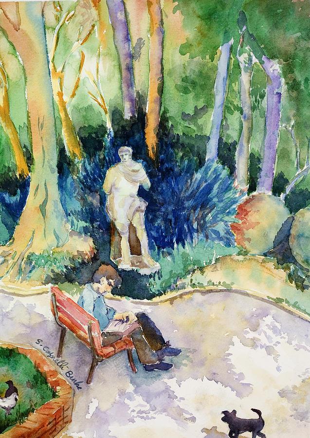 Italy Painting - Giardini Publici by Susan Cafarelli Burke
