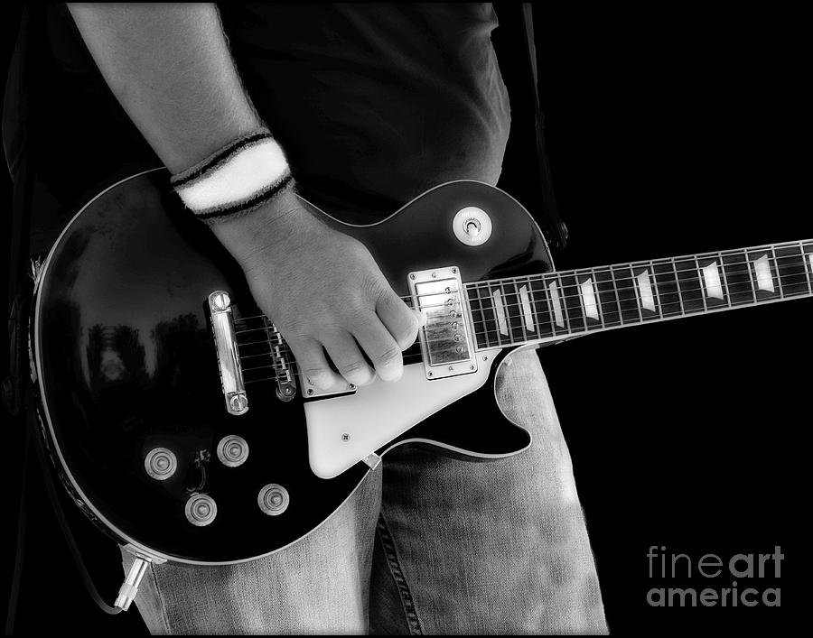 Gibson Photograph - Gibson Les Paul Guitar  by Randy Steele