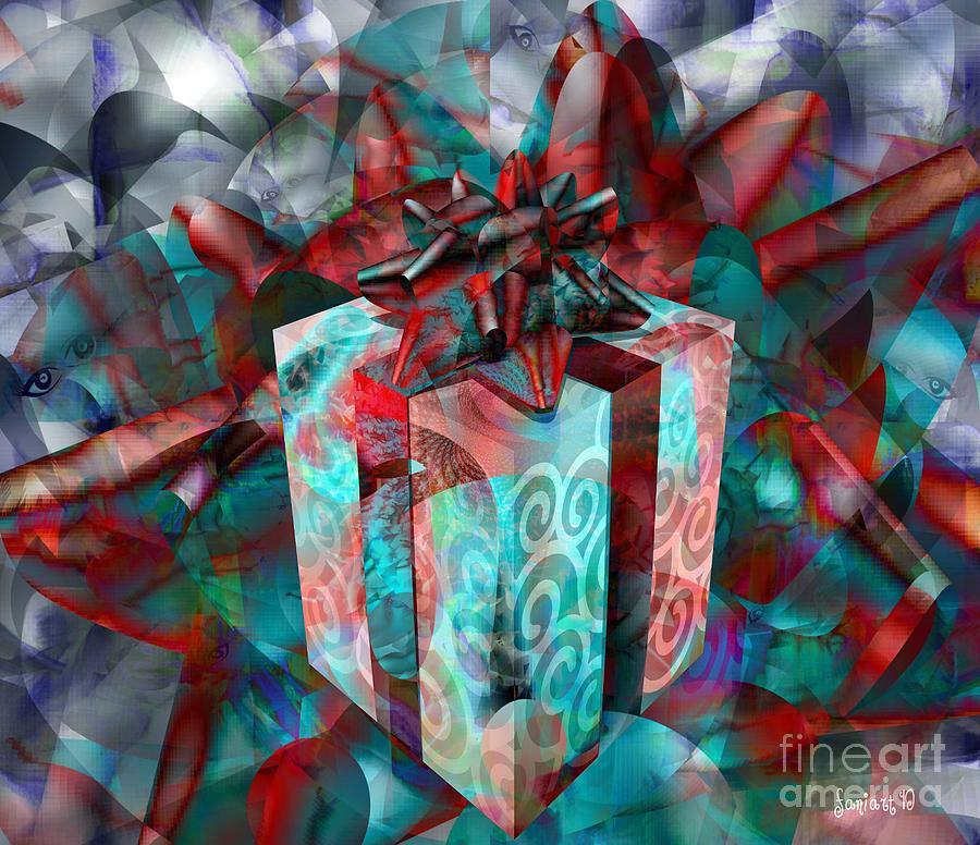Kids Hearts Digital Art - Gifts For Street Kids International by Fania Simon