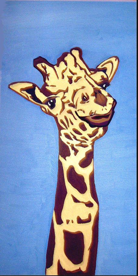 Art Painting - Giraffe by Darren Stein