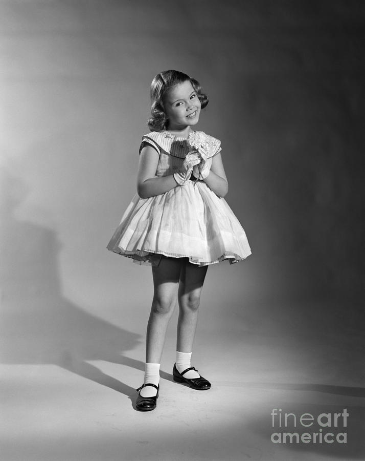 1950s photo of girls clothes № 9838