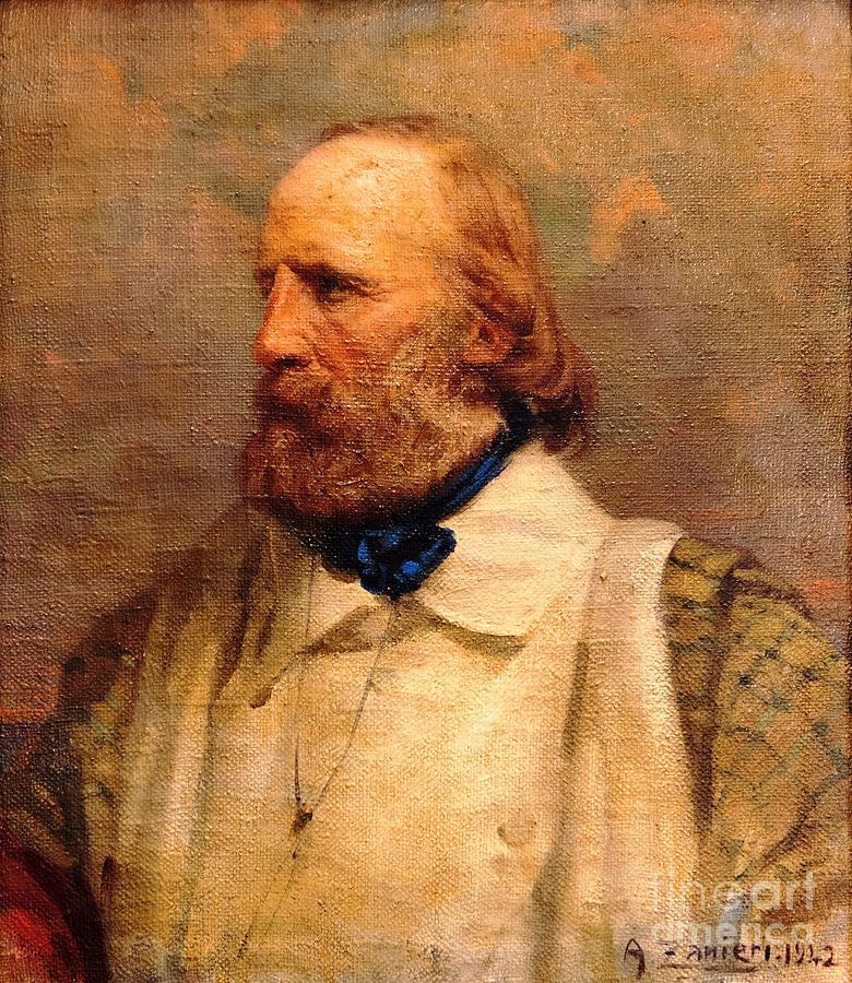 Pd-art: Reproduction Painting - Giuseppe Garibaldi by Pg Reproductions