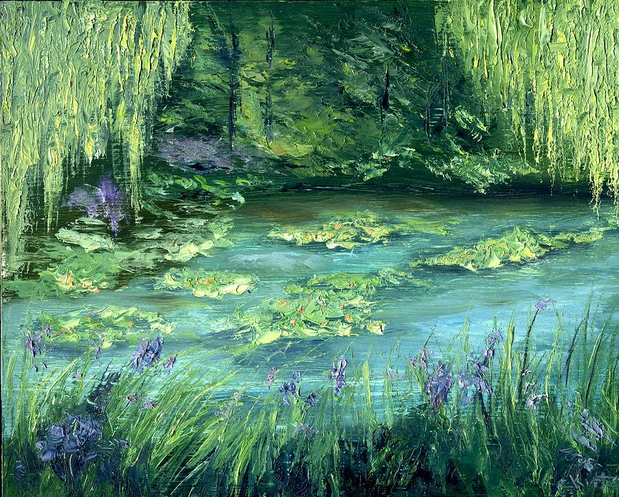 Giverny Painting - Giverny by Gail Kirtz