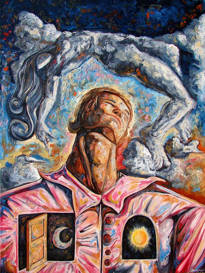Surrealism Painting - Giving You The Best by Darwin Leon
