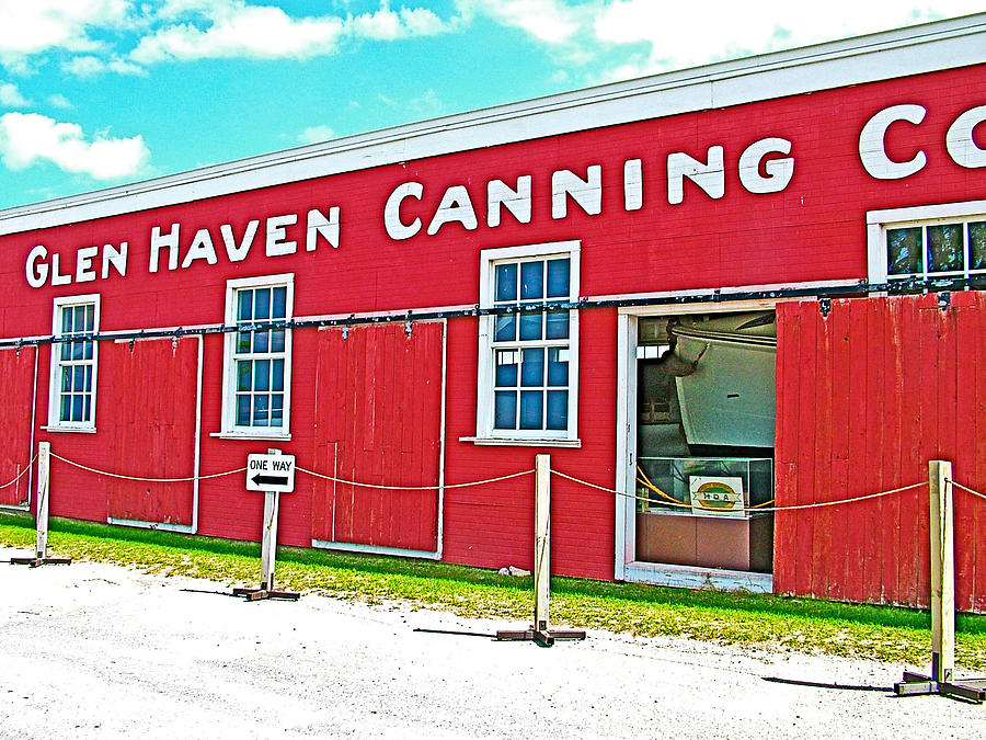Glen haven canning company for apple and cherry canning in for Glen haven