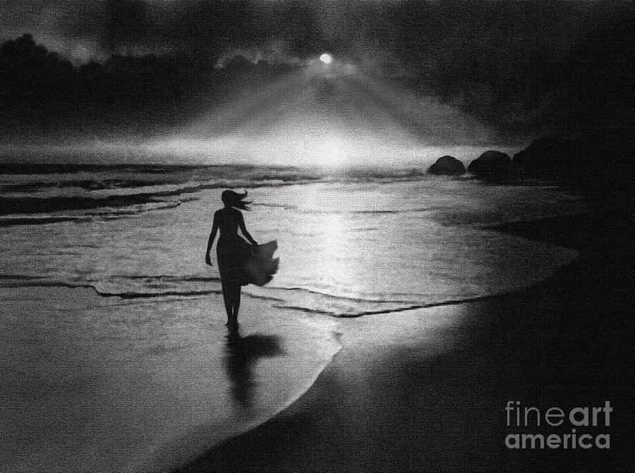 Seascape Digital Art - Glory View by Robert Foster
