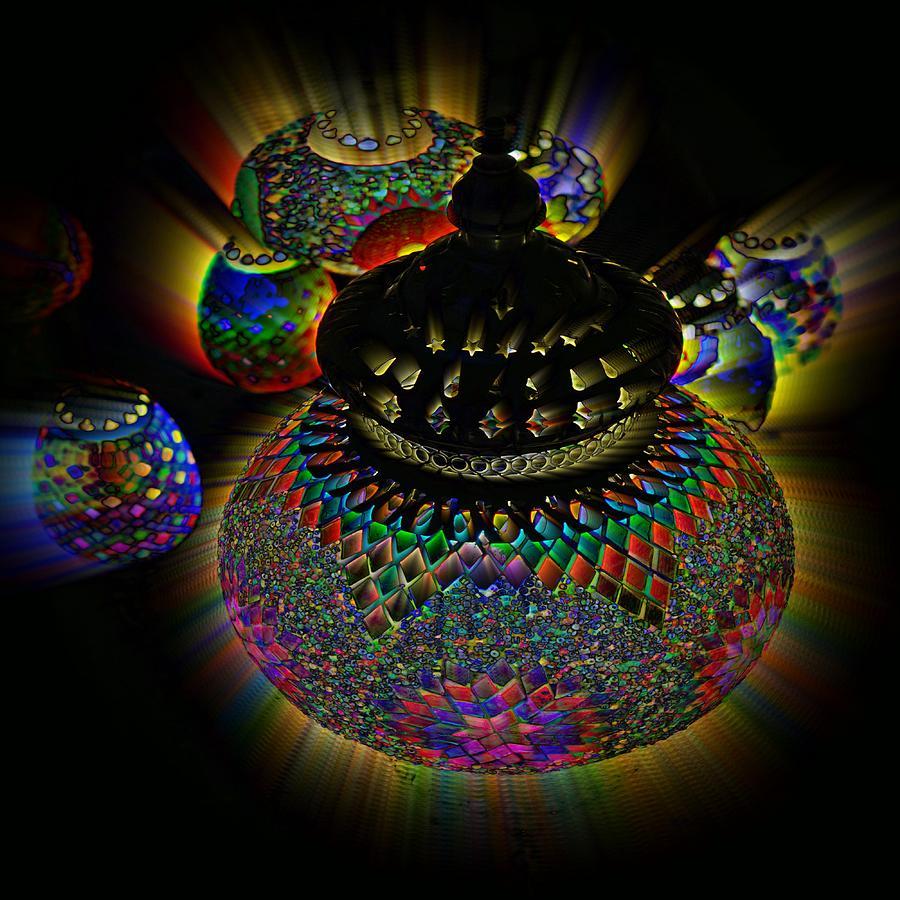 Glowing Lanterns Photograph