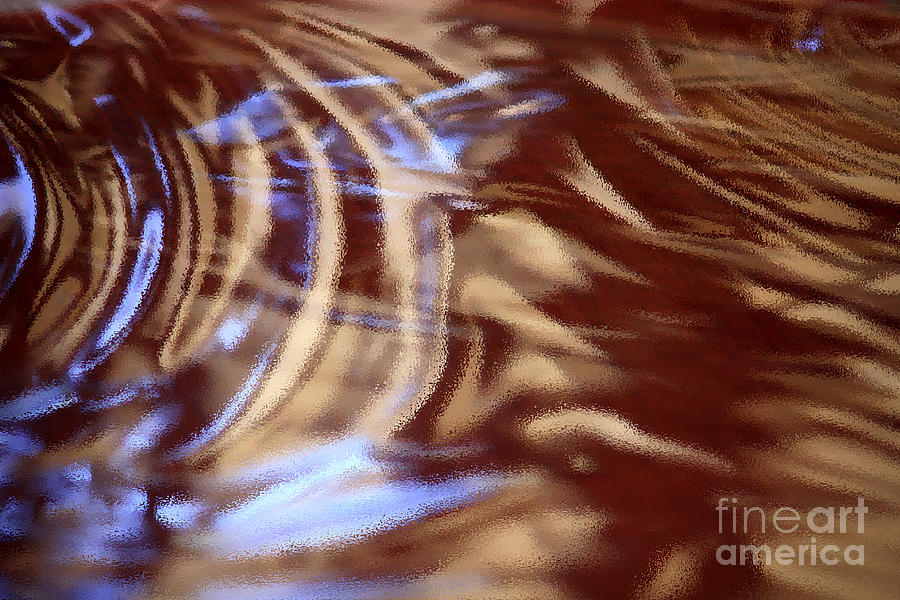Abstract Photograph - Go With The Flow - Abstract Art by Carol Groenen