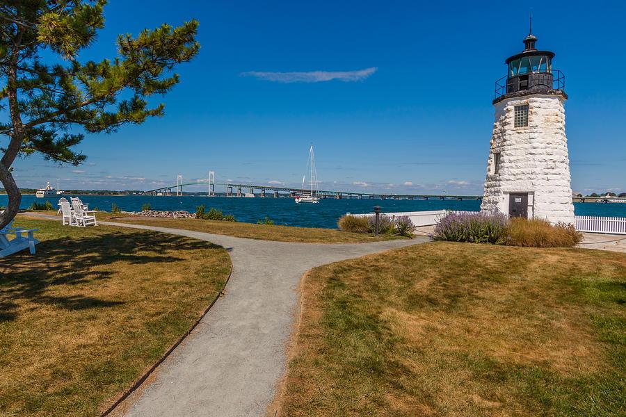 Newport Lighthouse Photograph. Goat Island Lighthouse by ...  Goat Island Lighthouse