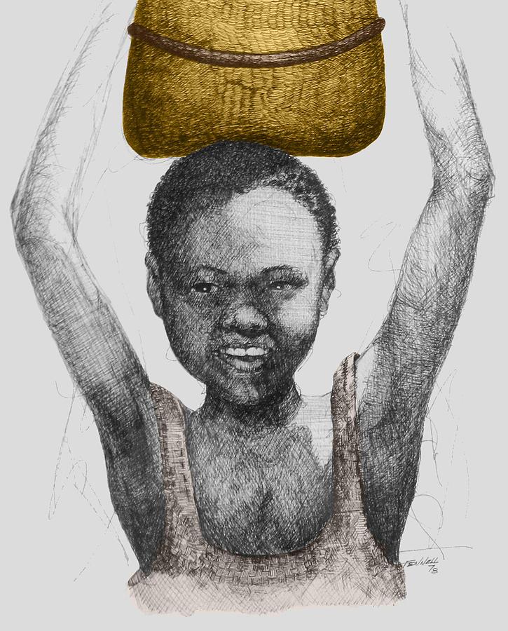 Gold Treasure Drawing
