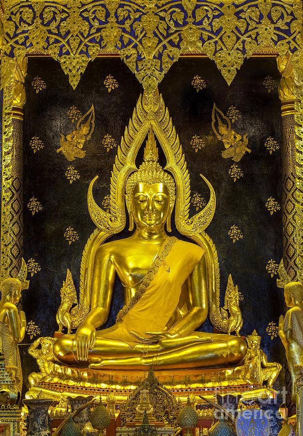 Abstract Photograph - Golden Buddha  by Anek Suwannaphoom