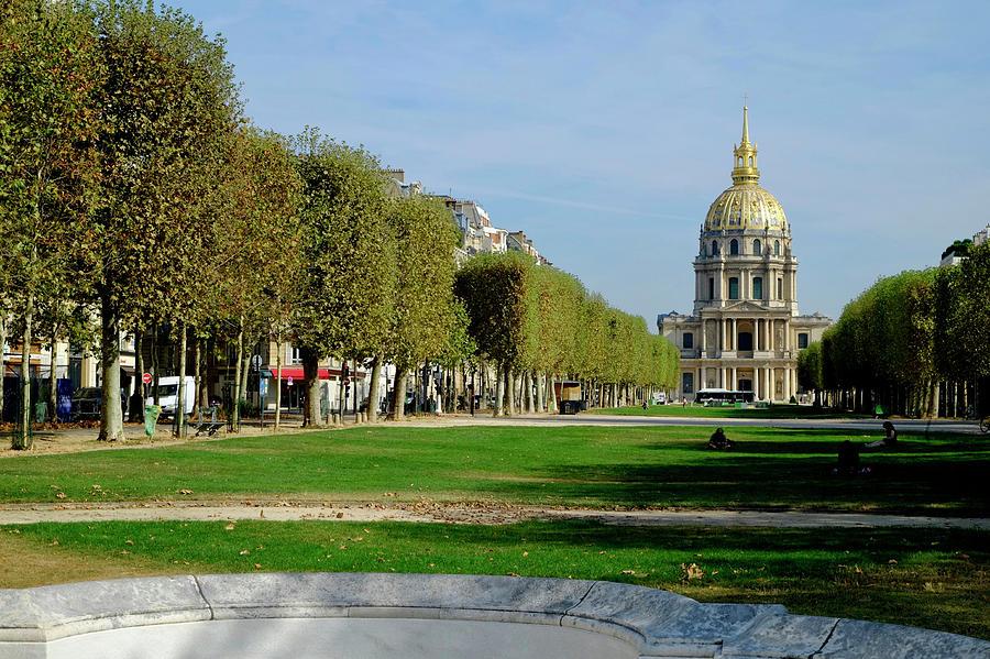 Golden Dome Paris Photograph