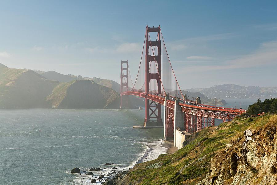 Horizontal Photograph - Golden Gate Bridge by Ian Morrison
