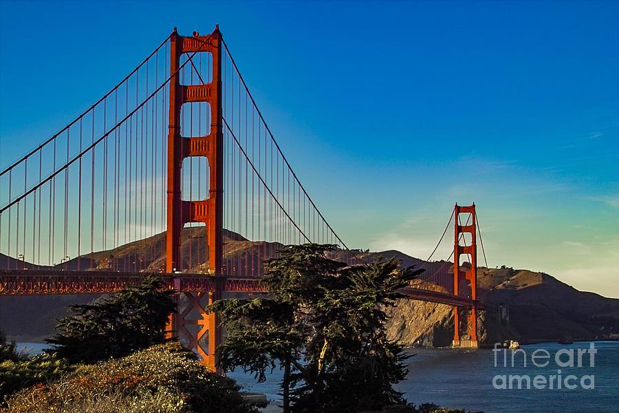 Golden Gate Bridge San Francisco California Photograph