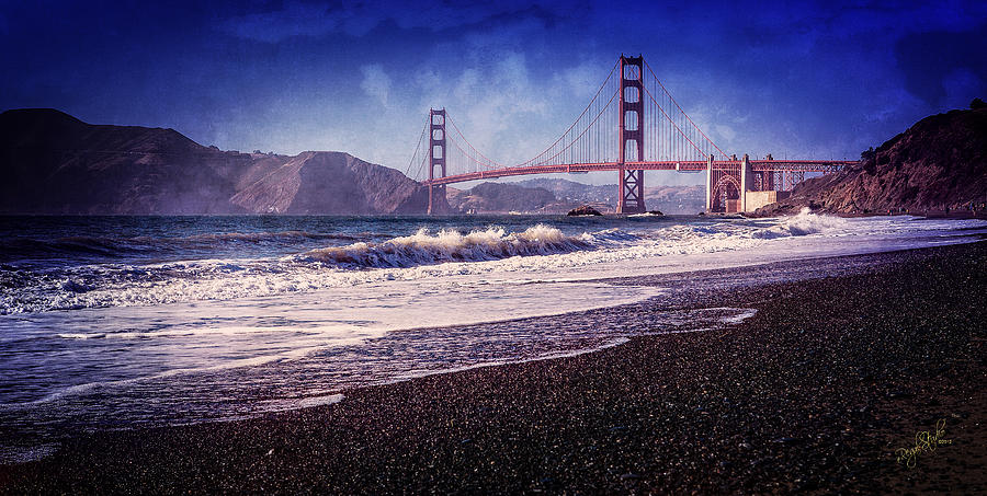 Golden Photograph - Golden Gate by Everet Regal