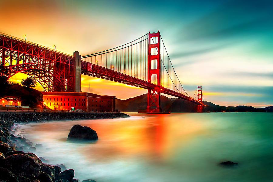 Golden Gateway Photograph