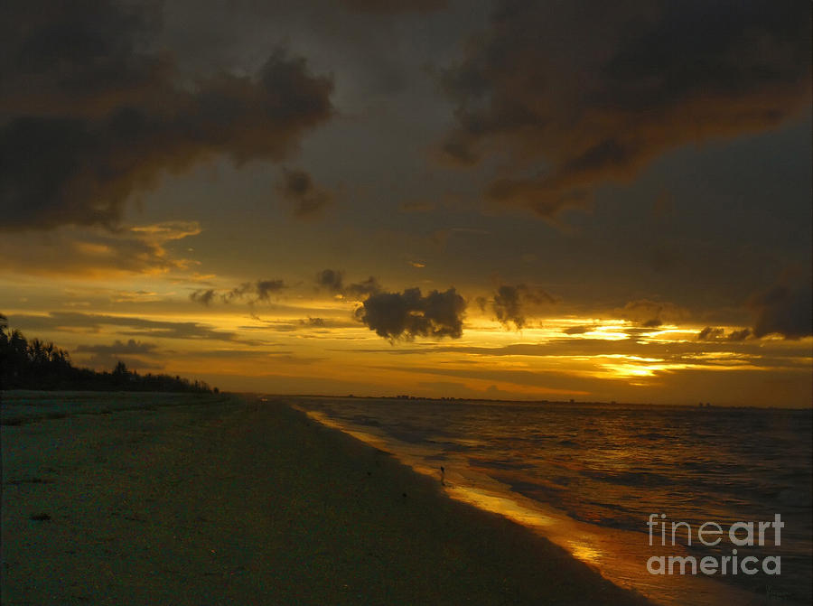 Sunrise Photograph - Golden Morning by Jeff Breiman