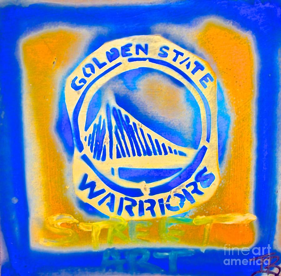 Golden State Warriors Street Art 1 Painting By Tony B
