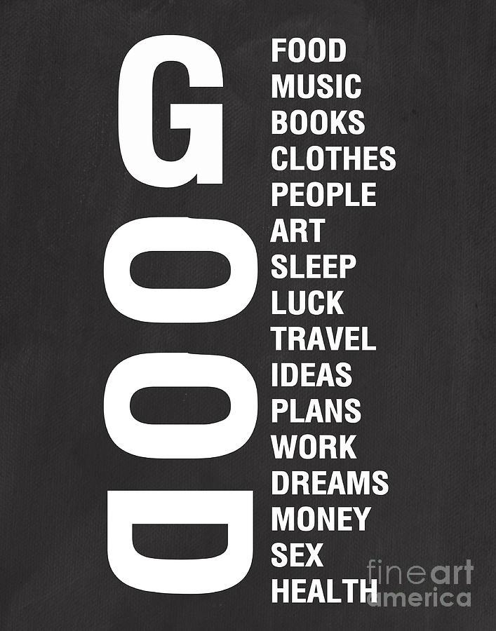 Good Things Mixed Media