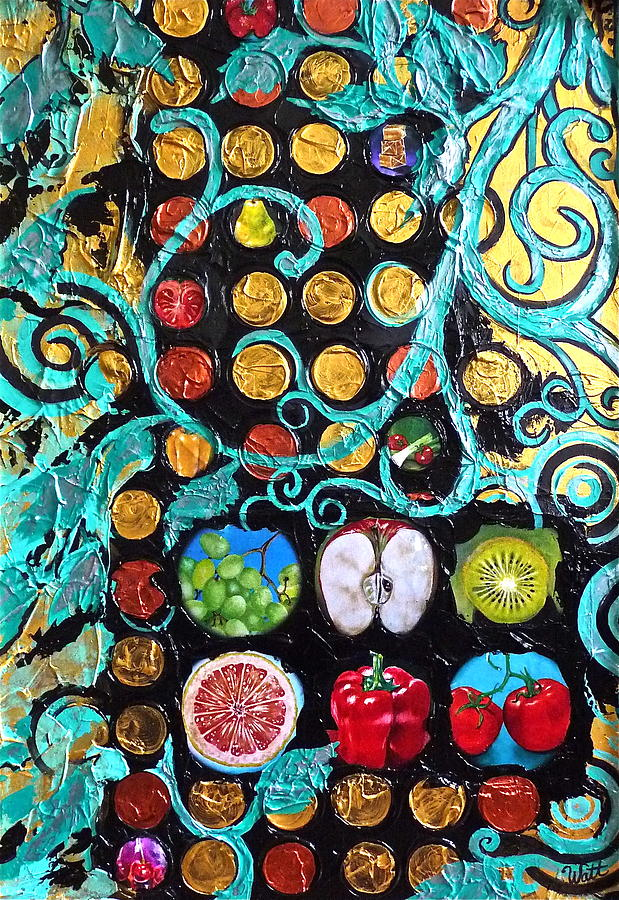 Abstract Painting - Goodness by Tammy Watt