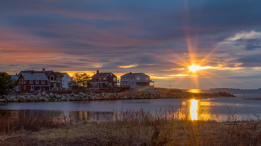 Goosefare Brook Sunrise Saco Maine Photograph By Kirkodd