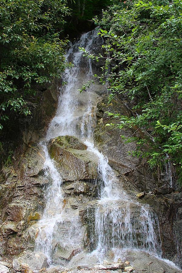 Gorge Creek Falls - North Cascades National Park Wa Photograph