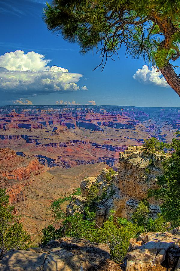Grand Canyon Photograph - Grand Canyon Vista by William Wetmore