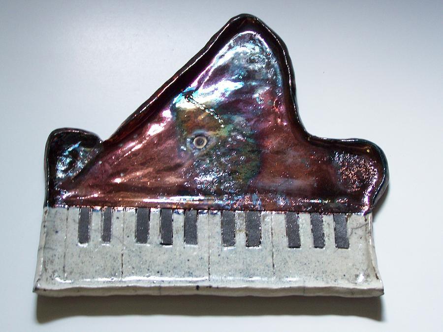 Piano Ceramic Art - Grand Glossy Piano No2 by Michelle Wildgruber