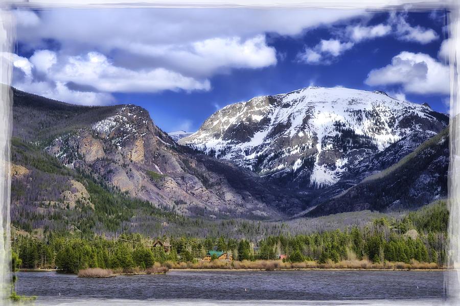 Calm Photograph - Grand Lake Co by Joan Carroll