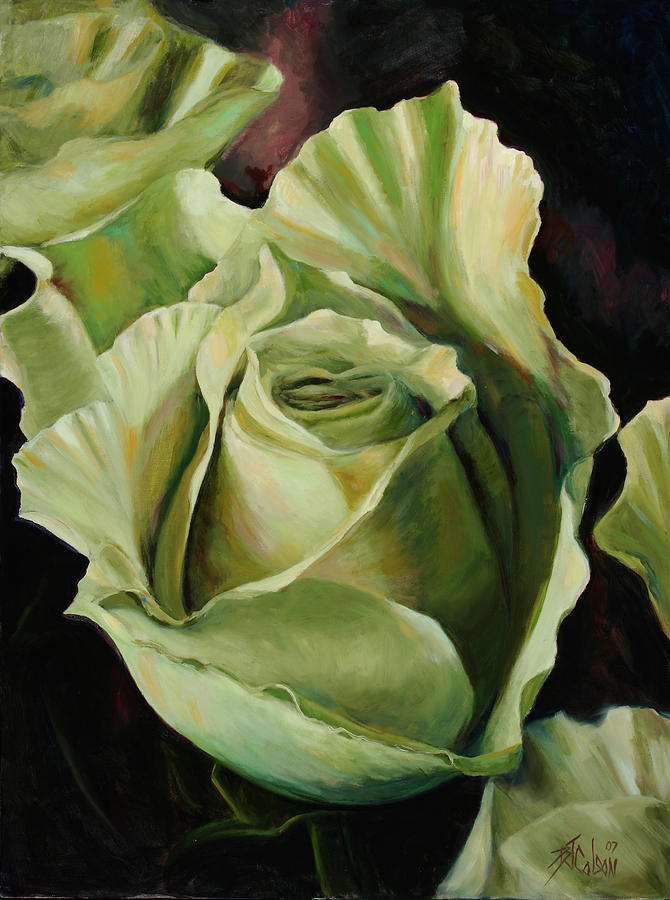 Roses Painting - Grand -opening by Billie Colson