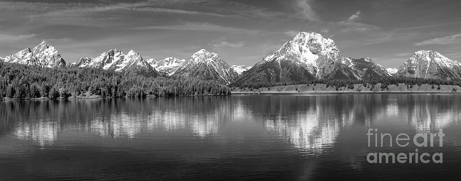Grand Teton Tranquility Photograph