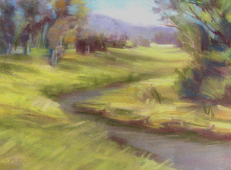 Grassy Meadow Painting