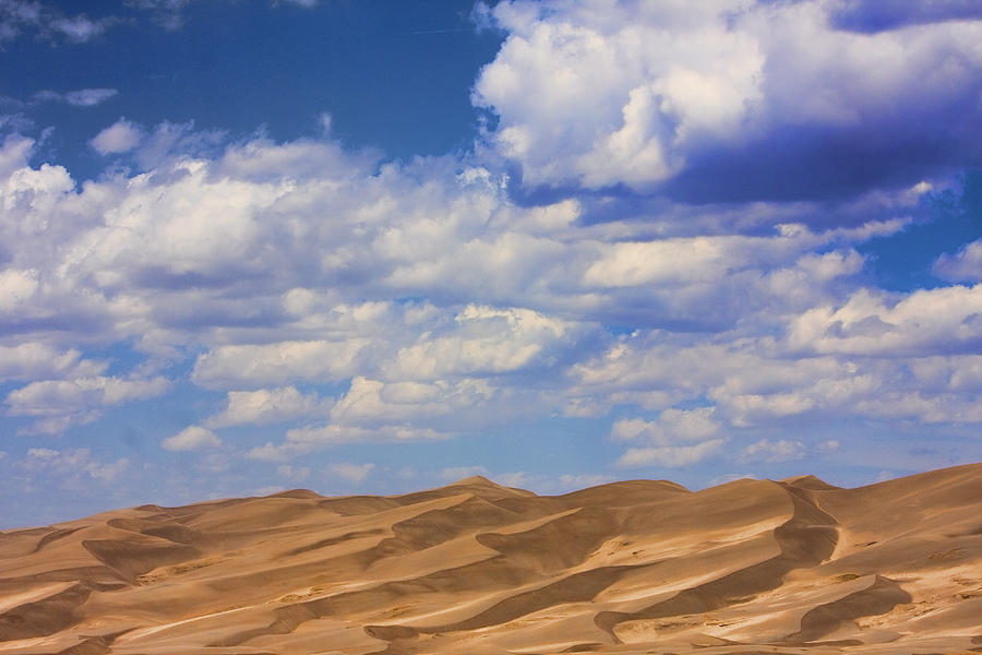 Great Colorado Sand Dunes Mixed View Photograph