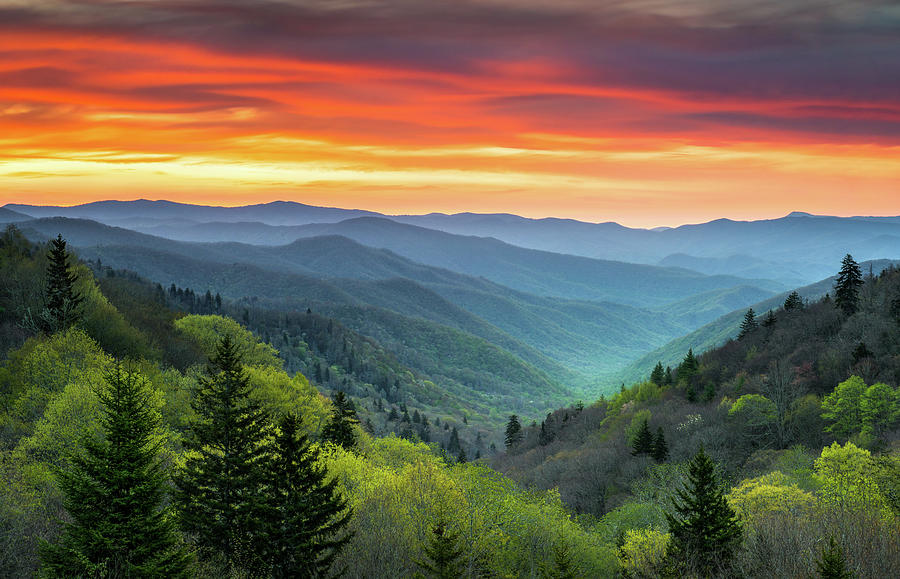 Great Smoky Mountains National Park Gatlinburg Tn Scenic