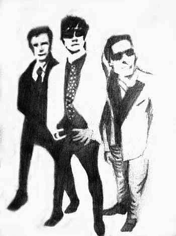 Sketch Painting - Green Day by Shif Sadeek