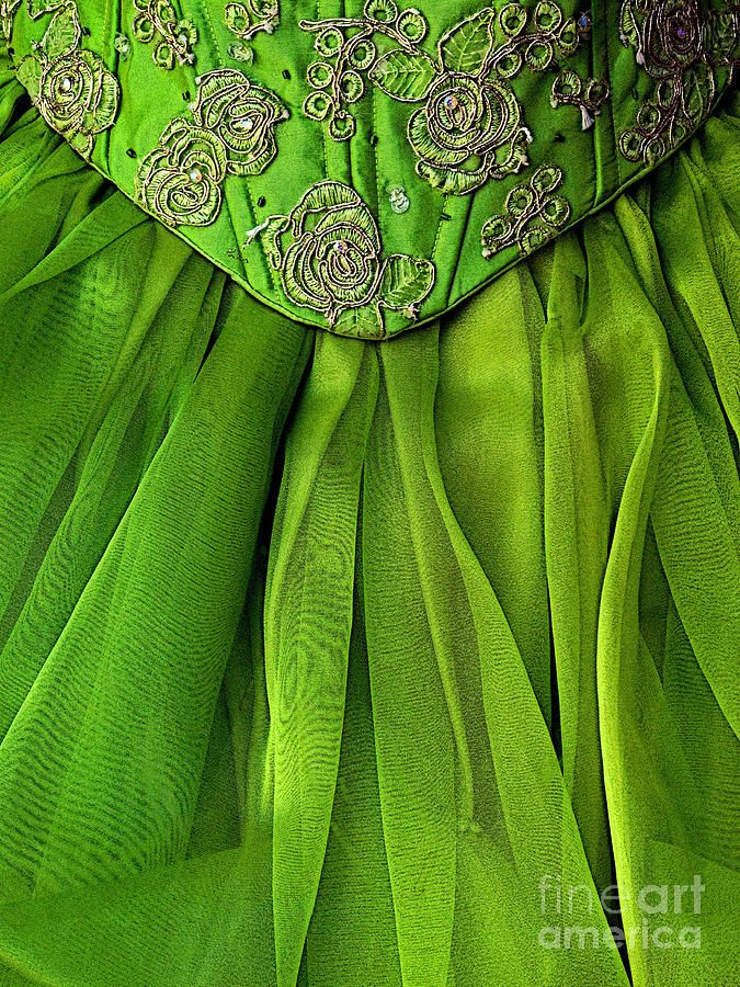 Mexico Photograph - Green Frock by Mexicolors Art Photography