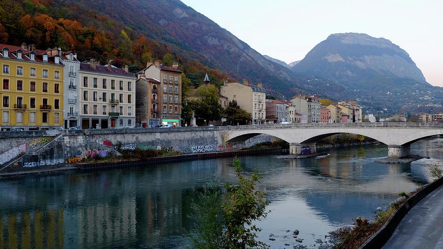 Grenoble Citadelle Bridge Photograph
