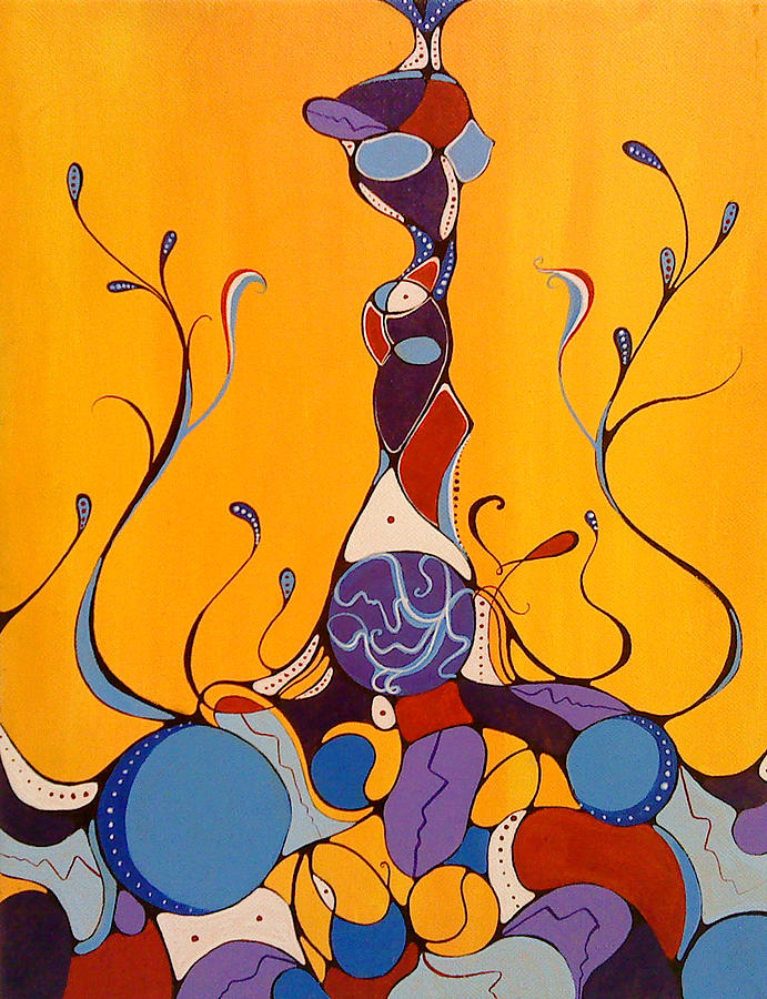Art Painting - Growth by Anna Cole Taylor