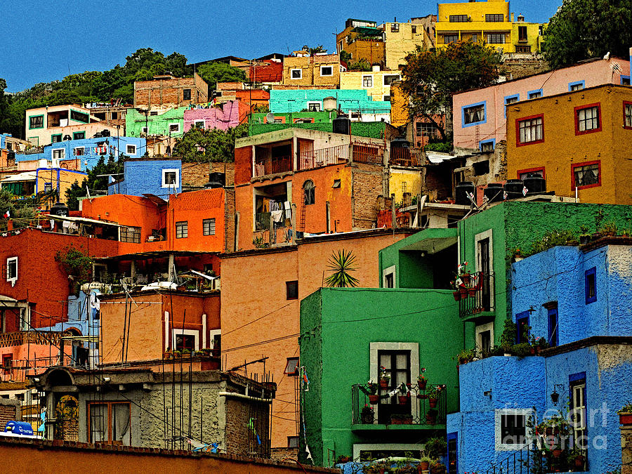 Guanajuato Hillside 1 Photograph