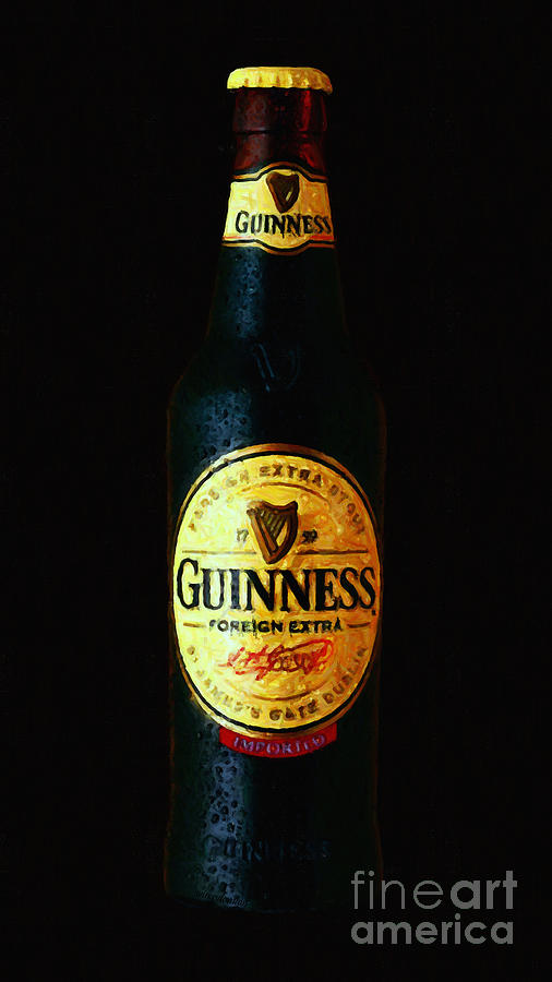 Wingsdomain Photograph - Guinness by Wingsdomain Art and Photography
