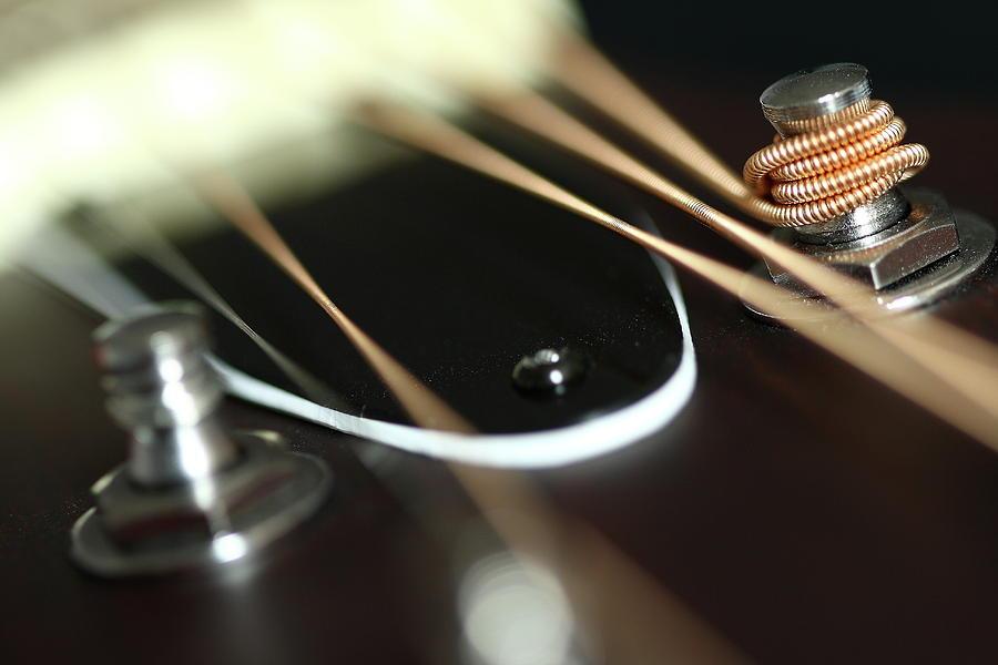 Horizontal Photograph - Guitar Fender by Mizanur Rahman