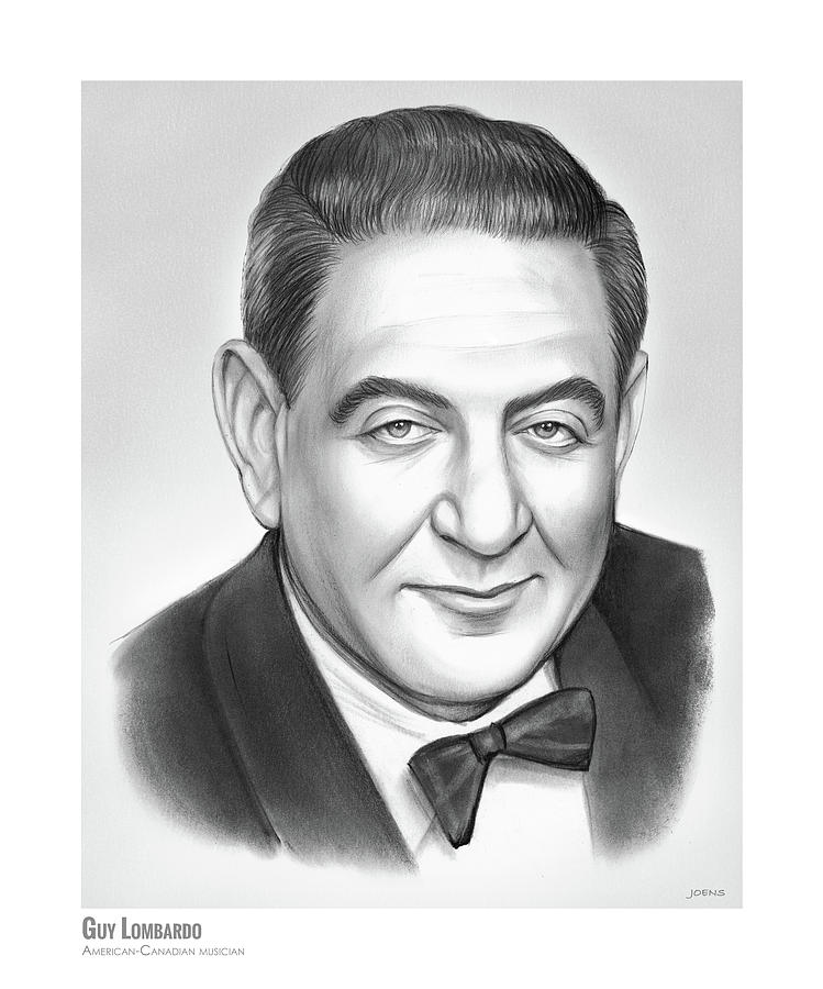Guy Lombardo Drawing