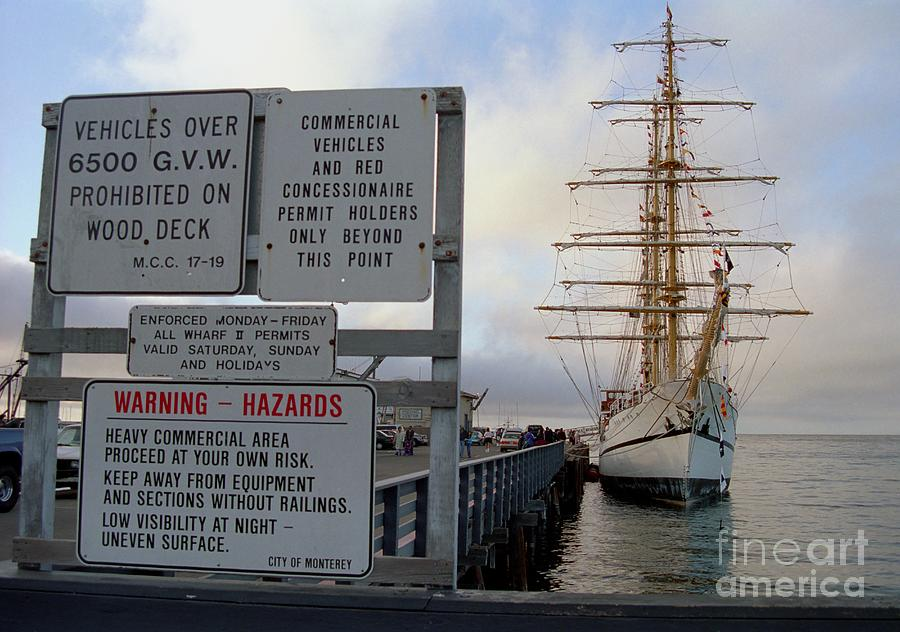 Guayas At Wharf 2 Photograph