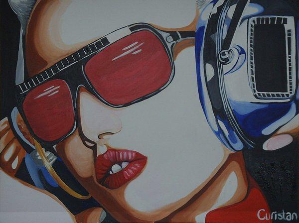 Gwen Stefani Painting