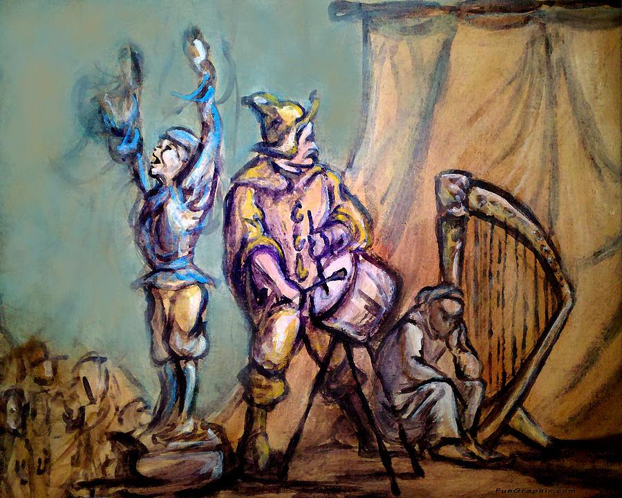 Gypsies Part 1 Painting