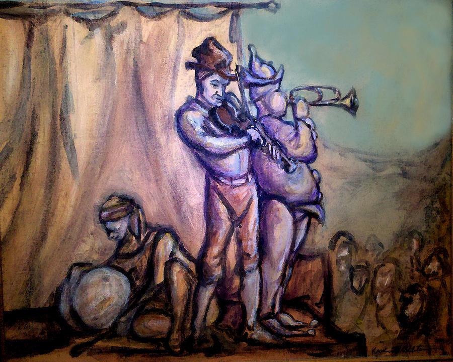 Gypsies Part 2 Painting